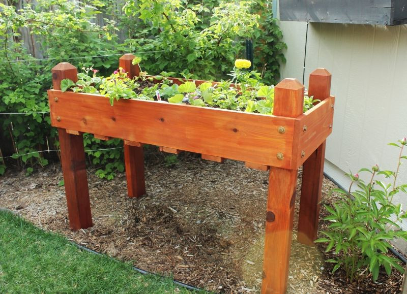 Best ideas about DIY Raised Planter Boxes . Save or Pin DIY Raised Planter Box – A Step by Step Building Guide Now.