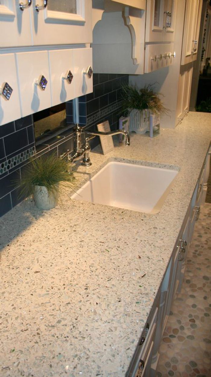 Best ideas about DIY Recycled Glass Countertops . Save or Pin Vetrazzo recycled glass countertop I have been looking at Now.
