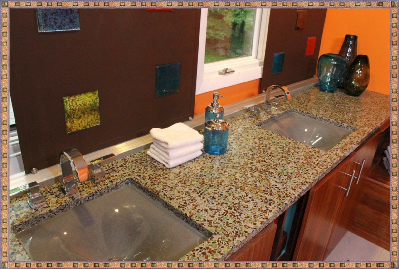 Best ideas about DIY Recycled Glass Countertops . Save or Pin Easy Tips For Recycled Glass Countertops – Loccie Better Now.