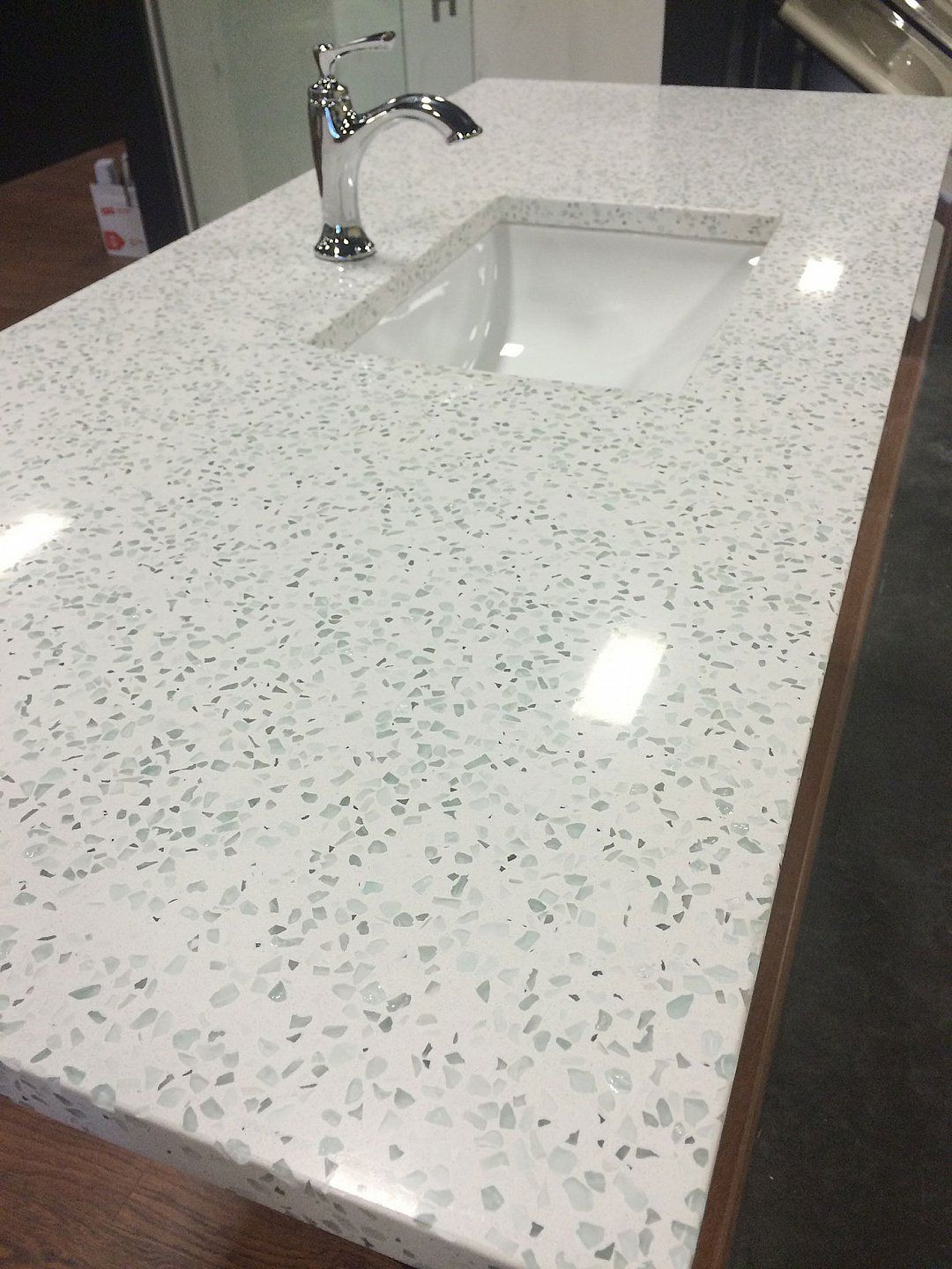 Best ideas about DIY Recycled Glass Countertops . Save or Pin I am intrigued by recycled glass countertops They are a Now.