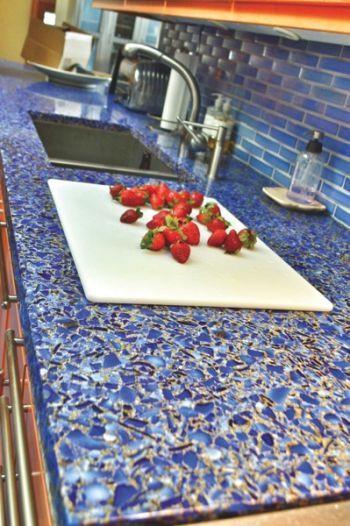 Best ideas about DIY Recycled Glass Countertops . Save or Pin What to Consider When Buying Recycled Glass Countertops Now.