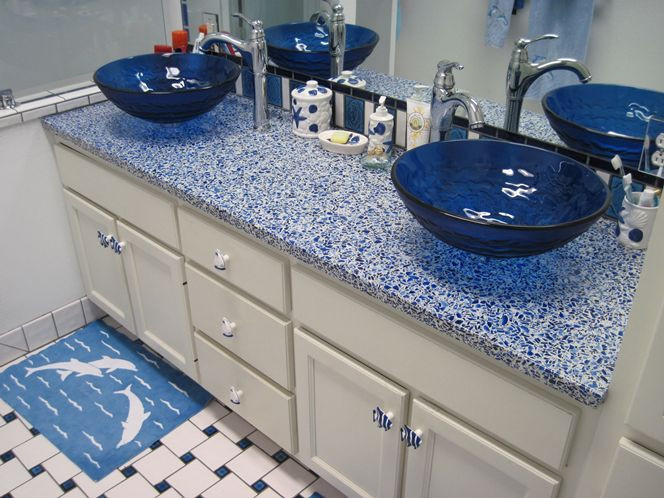 Best ideas about DIY Recycled Glass Countertops . Save or Pin 25 best Glass countertops ideas on Pinterest Now.