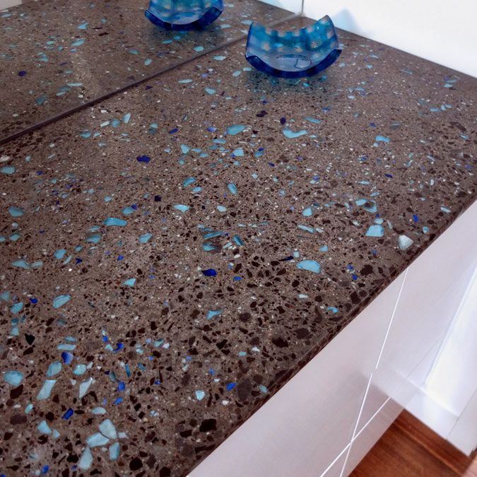 Best ideas about DIY Recycled Glass Countertops . Save or Pin Best 25 Concrete countertops ideas on Pinterest Now.
