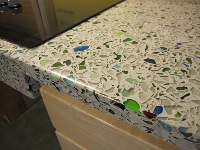 Best ideas about DIY Recycled Glass Countertops . Save or Pin 36 best images about Concrete countertops diy on Pinterest Now.
