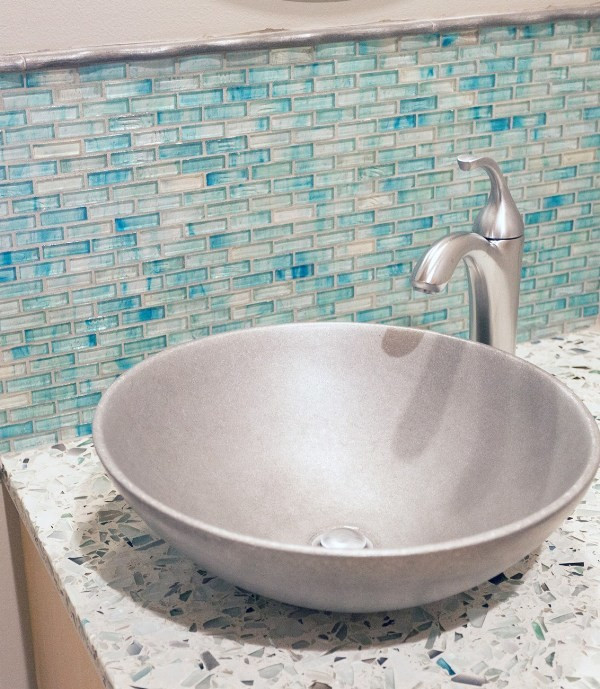 Best ideas about DIY Recycled Glass Countertops . Save or Pin DIY Recycled Glass Countertops My Daily Magazine Art Now.