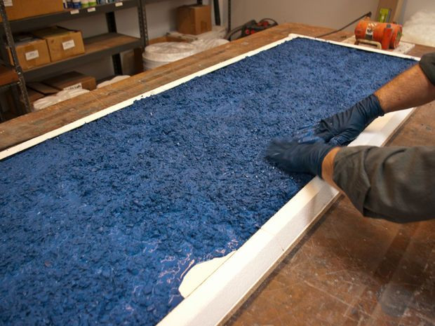 Best ideas about DIY Recycled Glass Countertops . Save or Pin Recycled Glass Countertop Now.