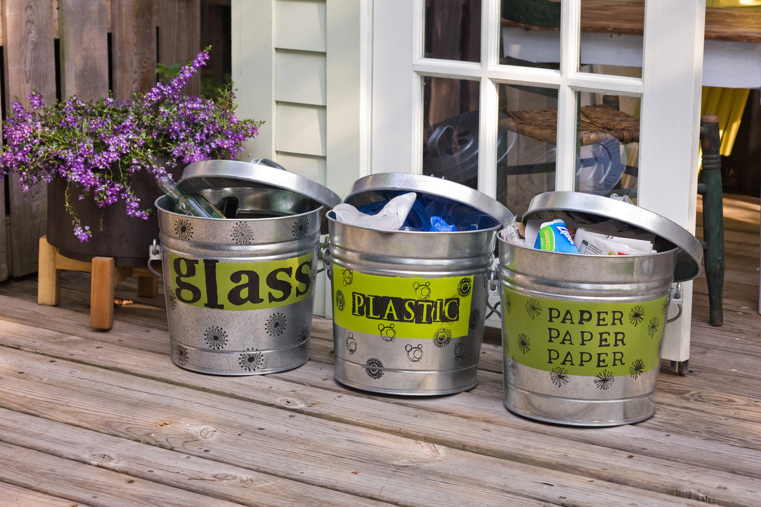 Best ideas about DIY Recycling Bins . Save or Pin DIY Recycling Bins Relish Now.