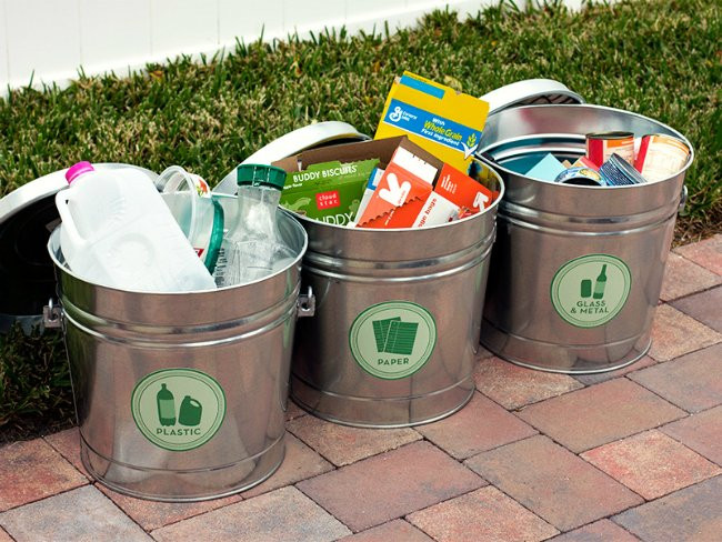 Best ideas about DIY Recycling Bins . Save or Pin DIY Recycling Bins 5 You Can Make Bob Vila Now.