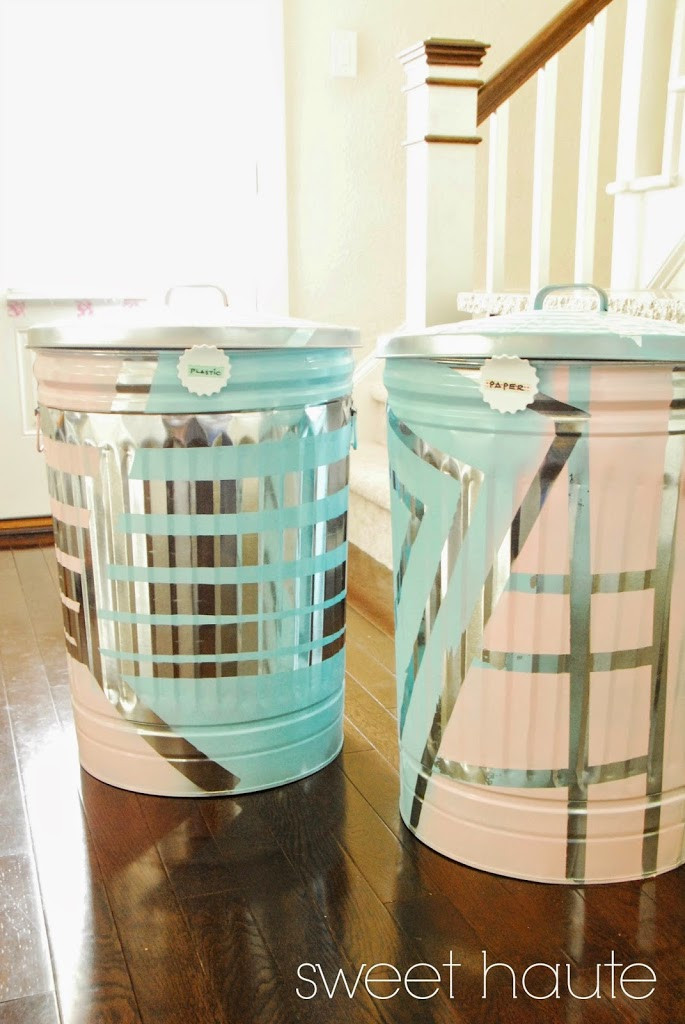 Best ideas about DIY Recycling Bins . Save or Pin DIY Outdoor Organization Recycle Bins SWEETHAUTE Now.