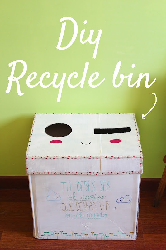 Best ideas about DIY Recycling Bins . Save or Pin 48 best images about DIY recycle bins on Pinterest Now.