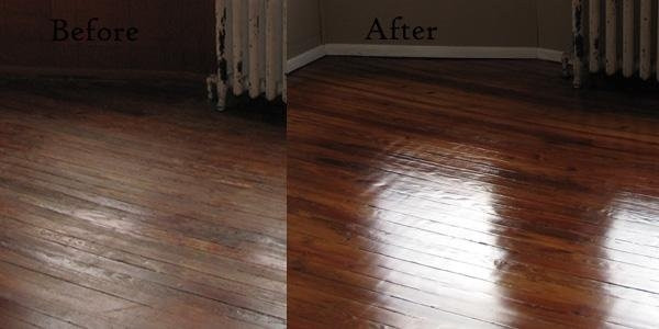 Best ideas about DIY Refinish Wood Floor . Save or Pin DIY Floor refinishing – instructions how to refinish wood Now.