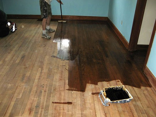 Best ideas about DIY Refinish Wood Floor . Save or Pin How To Refinish Wood Floors 11 Cool DIYs Shelterness Now.