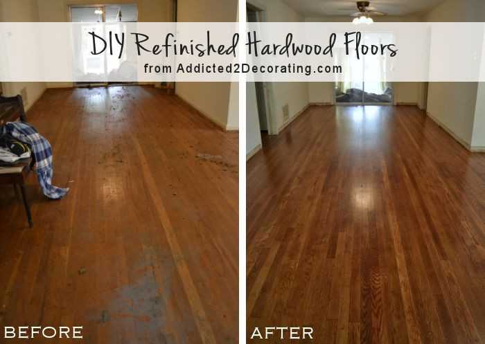Best ideas about DIY Refinish Wood Floor . Save or Pin My DIY Refinished Hardwood Floors Are Finished Now.