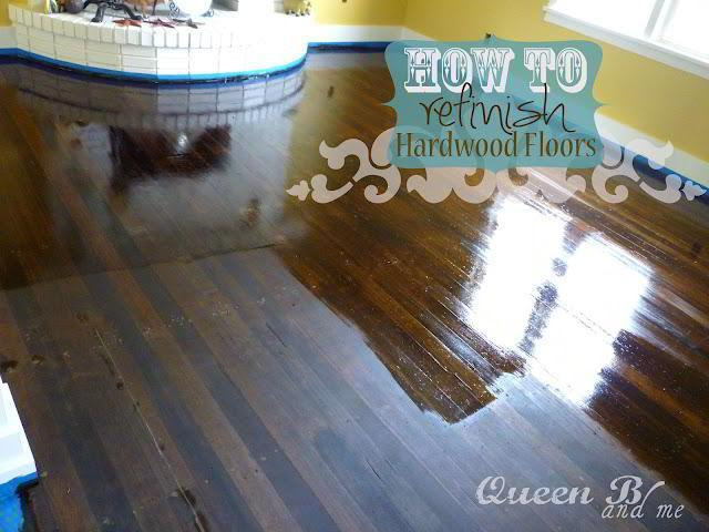 Best ideas about DIY Refinish Wood Floor . Save or Pin 27 DIY Home Decorating Projects to Make Now.