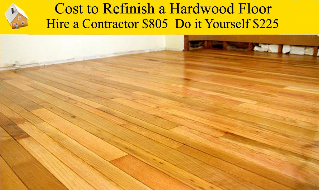 Best ideas about DIY Refinish Wood Floor . Save or Pin Cost to Refinish a Hardwood Floor Now.