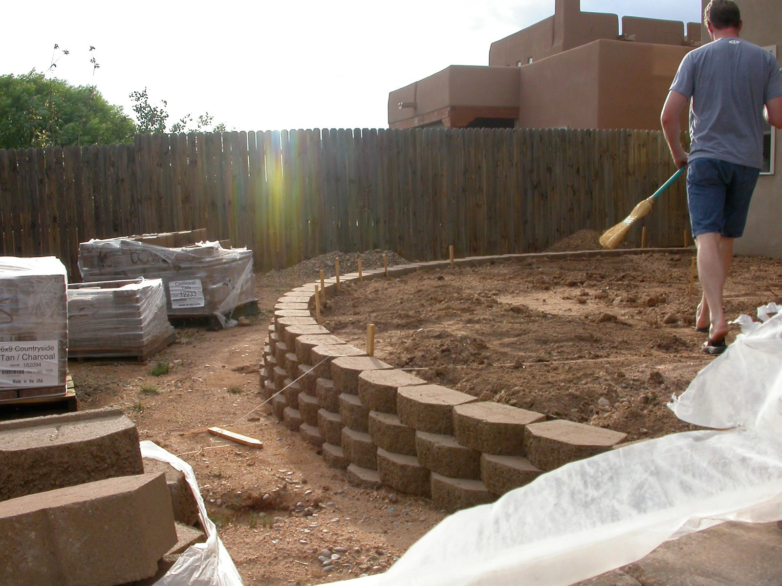 Best ideas about DIY Retaining Wall . Save or Pin Retaining Wall Ideas Retaining Wall Design Now.