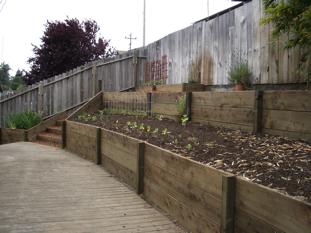 Best ideas about DIY Retaining Wall . Save or Pin DIY Timber Retaining Walls Richmond Sand Gravel and Now.