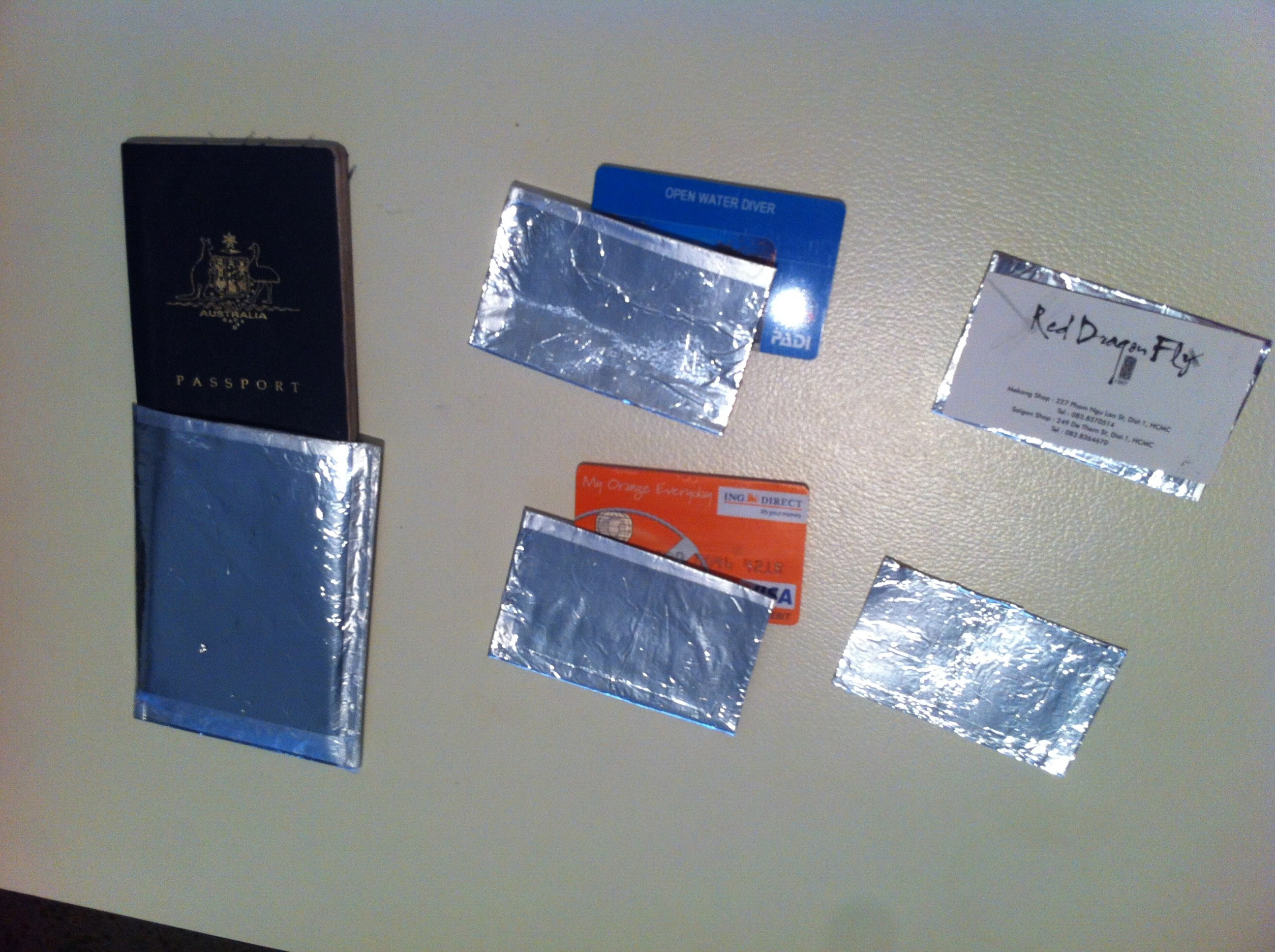 Best ideas about DIY Rfid Wallet . Save or Pin How to make RFID sleeves…at home Now.