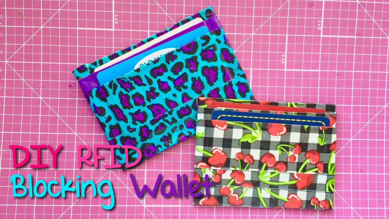 Best ideas about DIY Rfid Wallet . Save or Pin DIY RFID Blocking Wallet Tutorial Now.