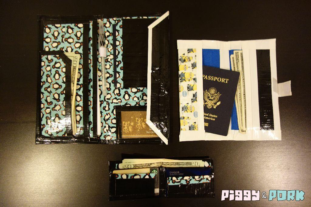 Best ideas about DIY Rfid Wallet . Save or Pin DIY RFID Blocking Duct Tape Wallets Now.