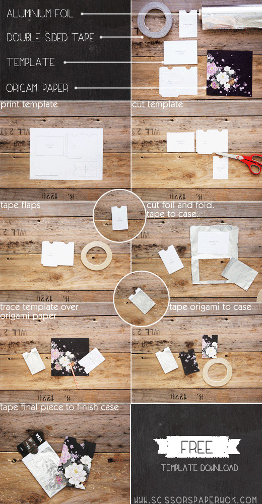 Best ideas about DIY Rfid Wallet . Save or Pin RFID Wallet No Purchase Necessary A DIY scissors Now.