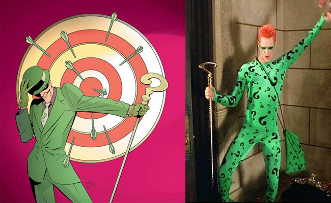 Best ideas about DIY Riddler Costume . Save or Pin 10 Lame Costumes from ic Book Movies Costume Now.