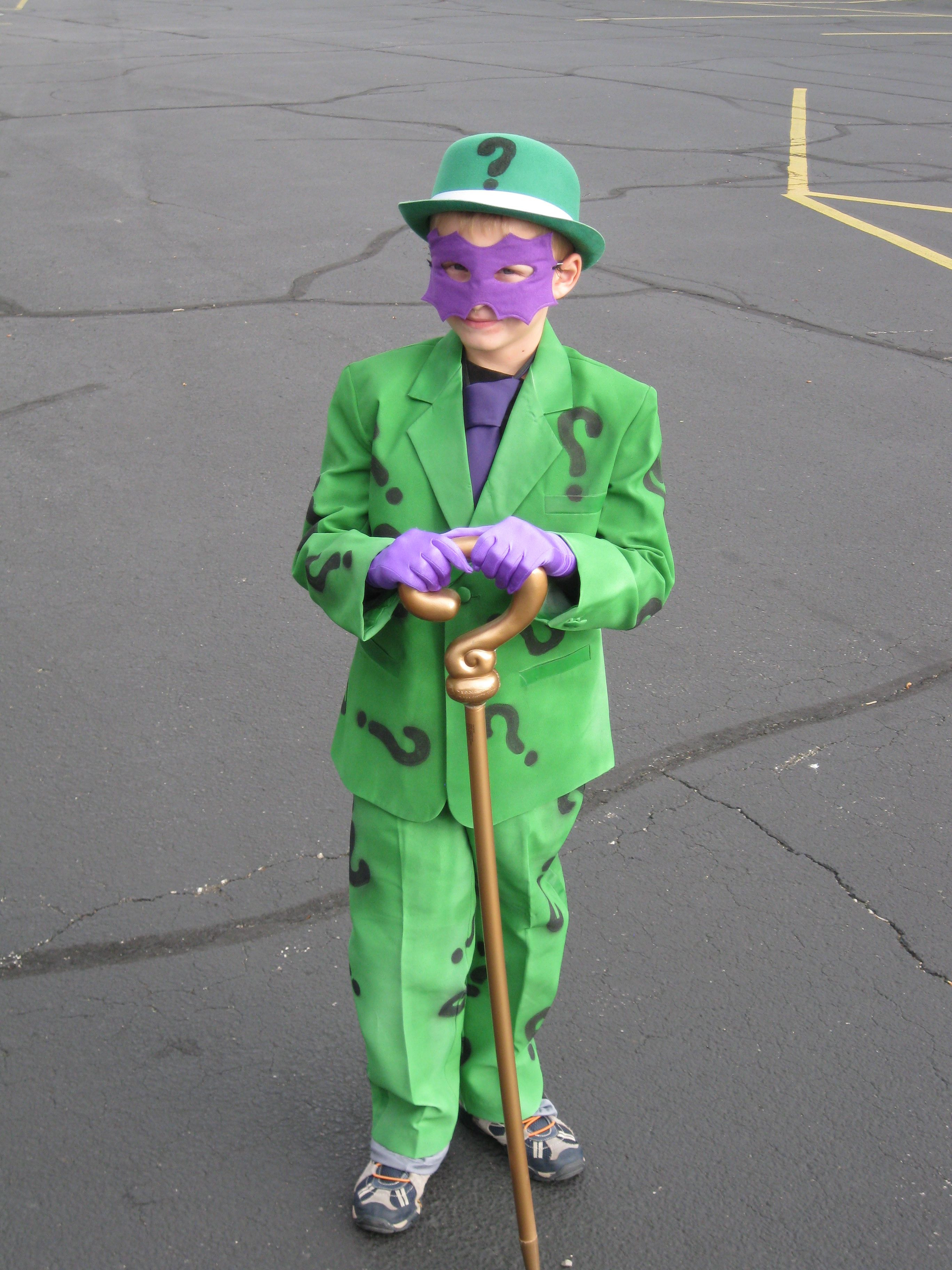Best ideas about DIY Riddler Costume . Save or Pin home made riddler costume Jill McBride Now.
