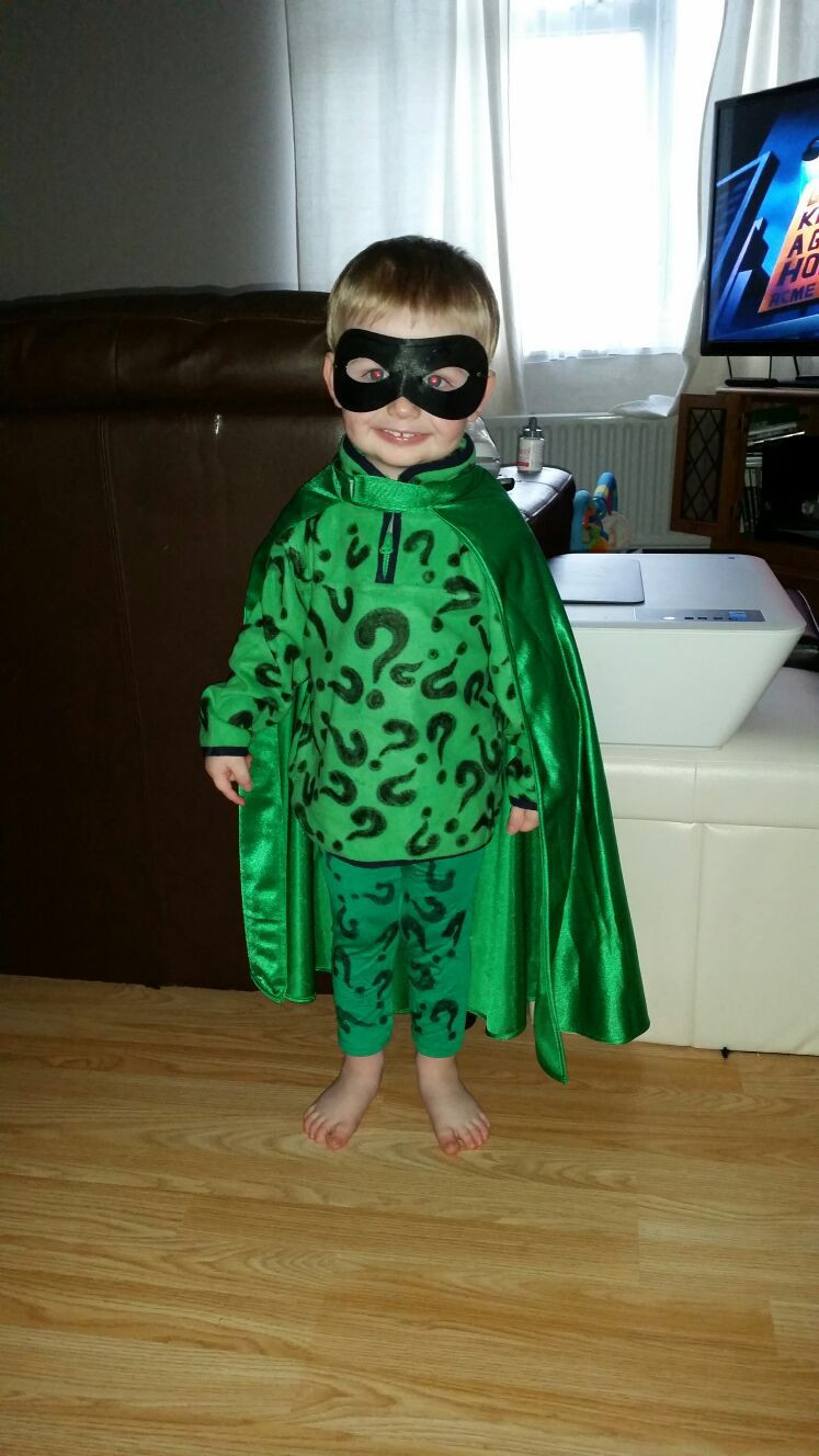 Best ideas about DIY Riddler Costume . Save or Pin Homemade riddler costume Riddler Now.