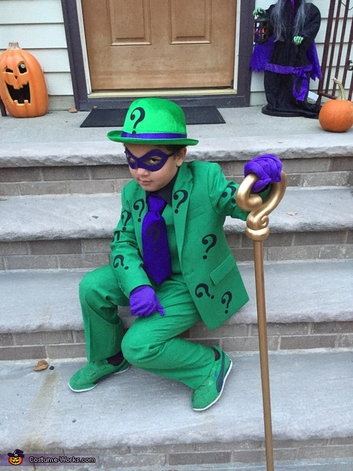 Best ideas about DIY Riddler Costume . Save or Pin Riddler Boy s Halloween Costume Now.