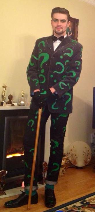 Best ideas about DIY Riddler Costume . Save or Pin Haute Hallowe'en – Jus de James Now.