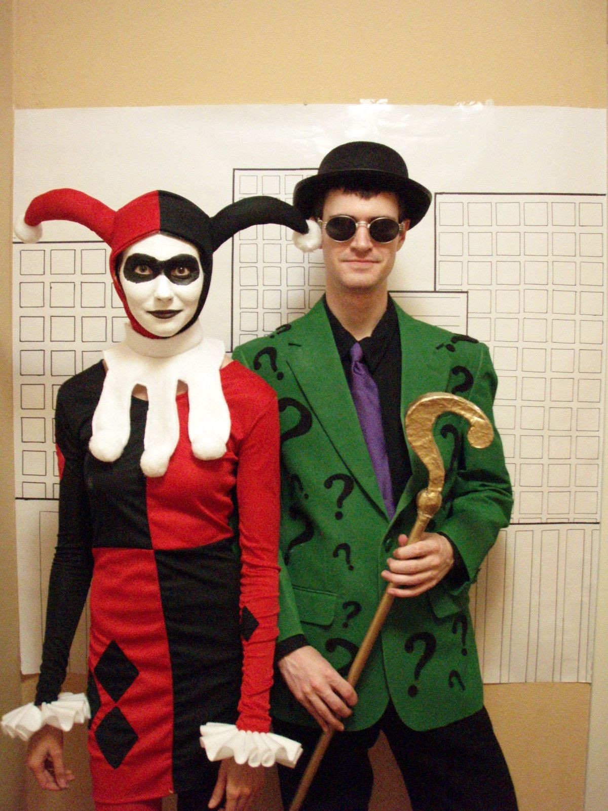Best ideas about DIY Riddler Costume . Save or Pin How To Make A Riddler Question Mark Cane Now.