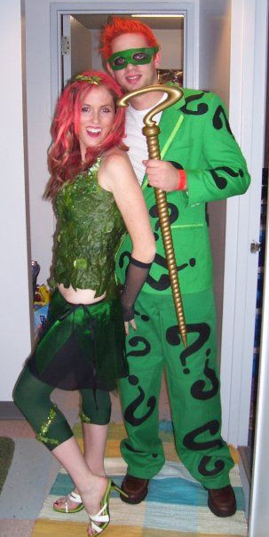 Best ideas about DIY Riddler Costume . Save or Pin Riddler costume Riddler and Poison ivy on Pinterest Now.