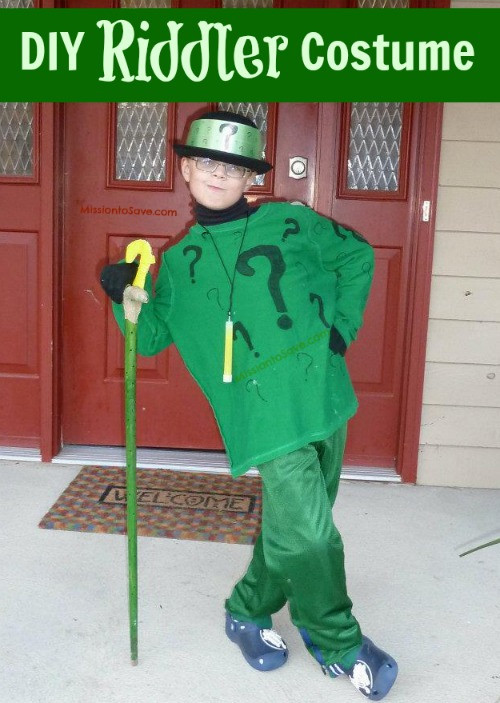 Best ideas about DIY Riddler Costume . Save or Pin DIY Halloween Costumes for Kids Now.