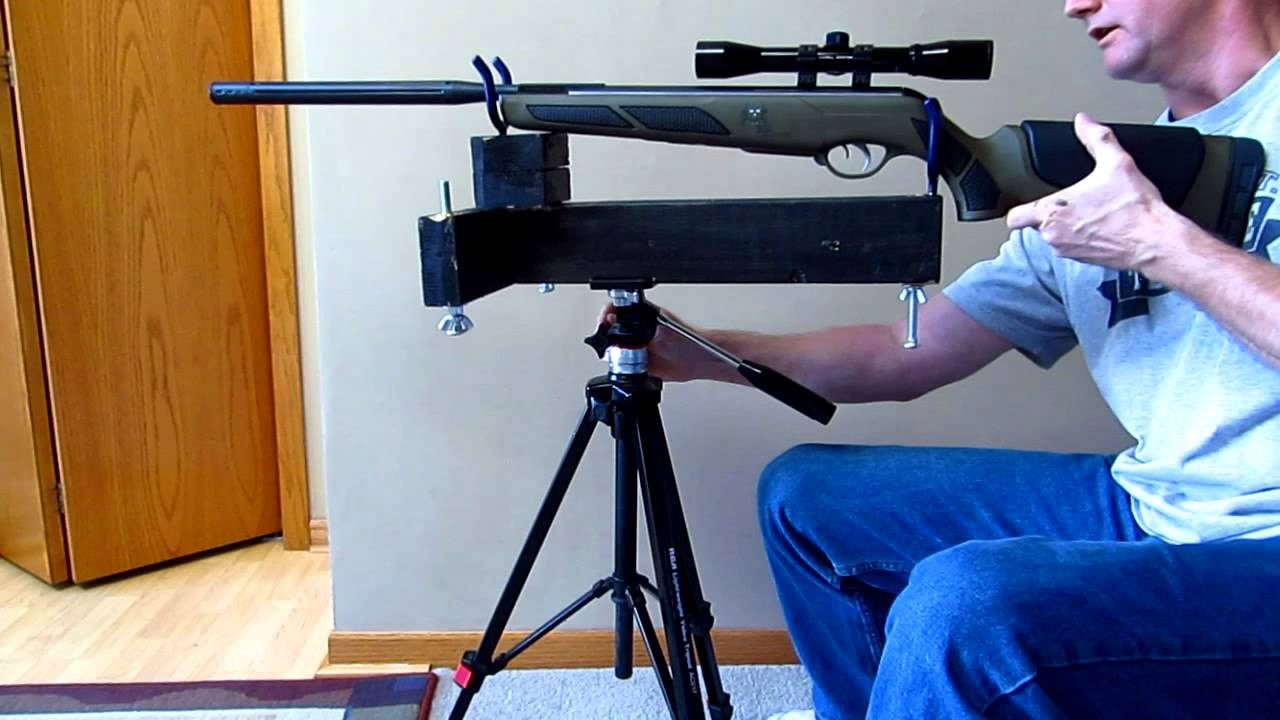 Best ideas about DIY Rifle Rest . Save or Pin Homemade Rifle Rest Stand $5 Part 2 Now.
