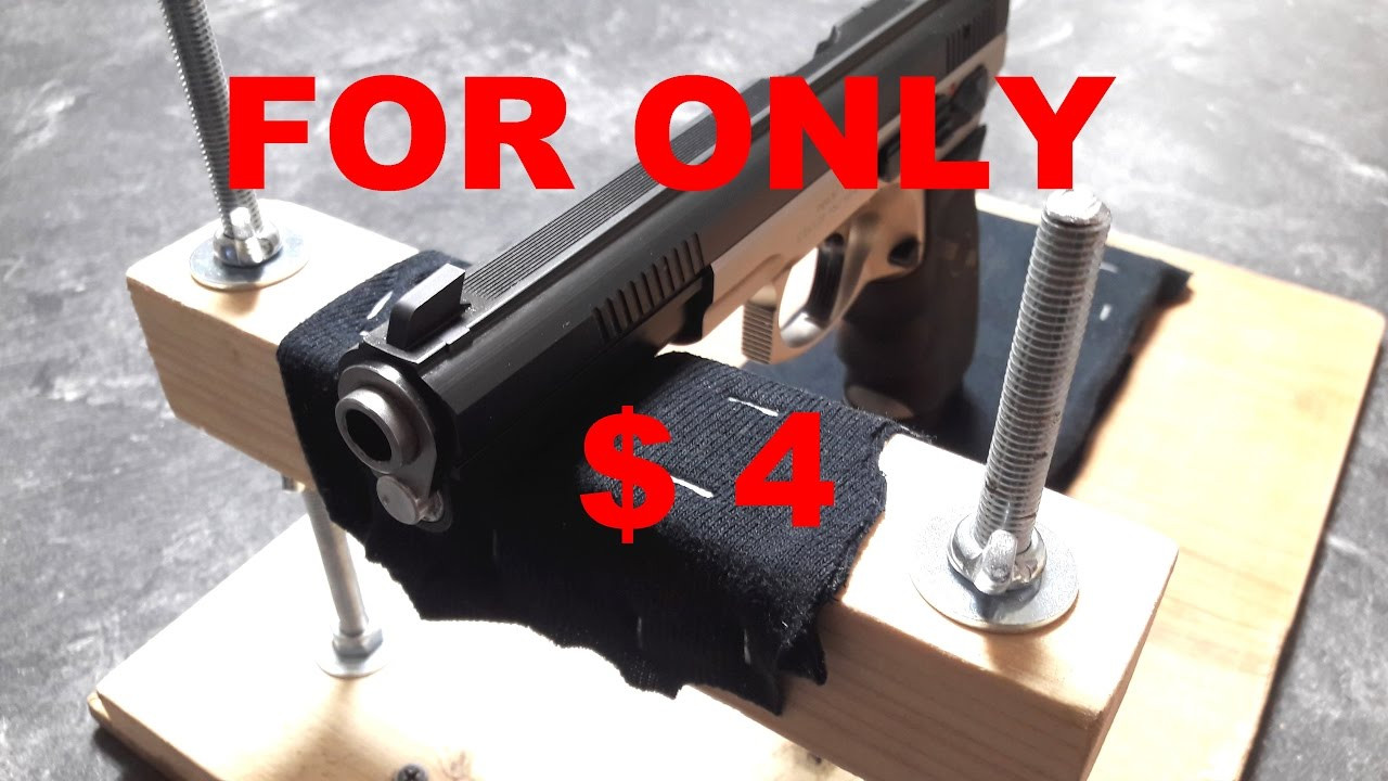 Best ideas about DIY Rifle Rest . Save or Pin SHOOTING STAND REST DIY BENCH HOMEMADE GUN Now.