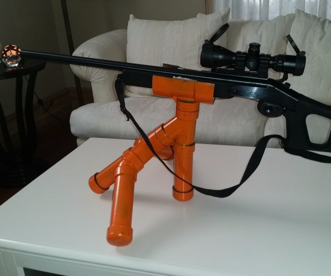 Best ideas about DIY Rifle Rest . Save or Pin ABS Gun Rest 3 Now.