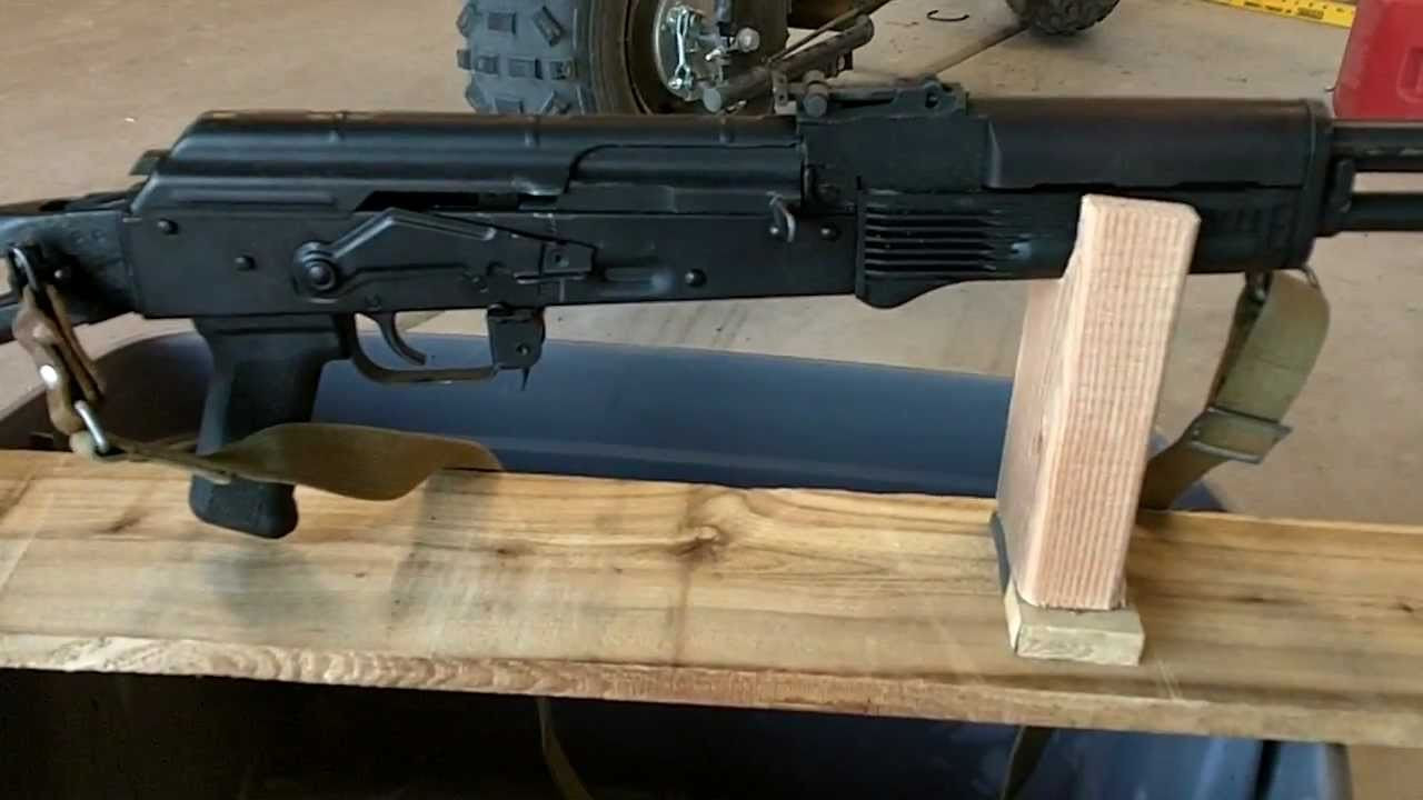 Best ideas about DIY Rifle Rest . Save or Pin DIY AK 74 AK47 RIFLE REST $1 00 RIFLE REST ULTIMATE Now.