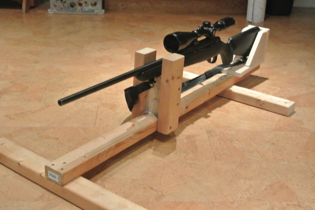 Best ideas about DIY Rifle Rest . Save or Pin DIY gun rest Homestead Security Now.