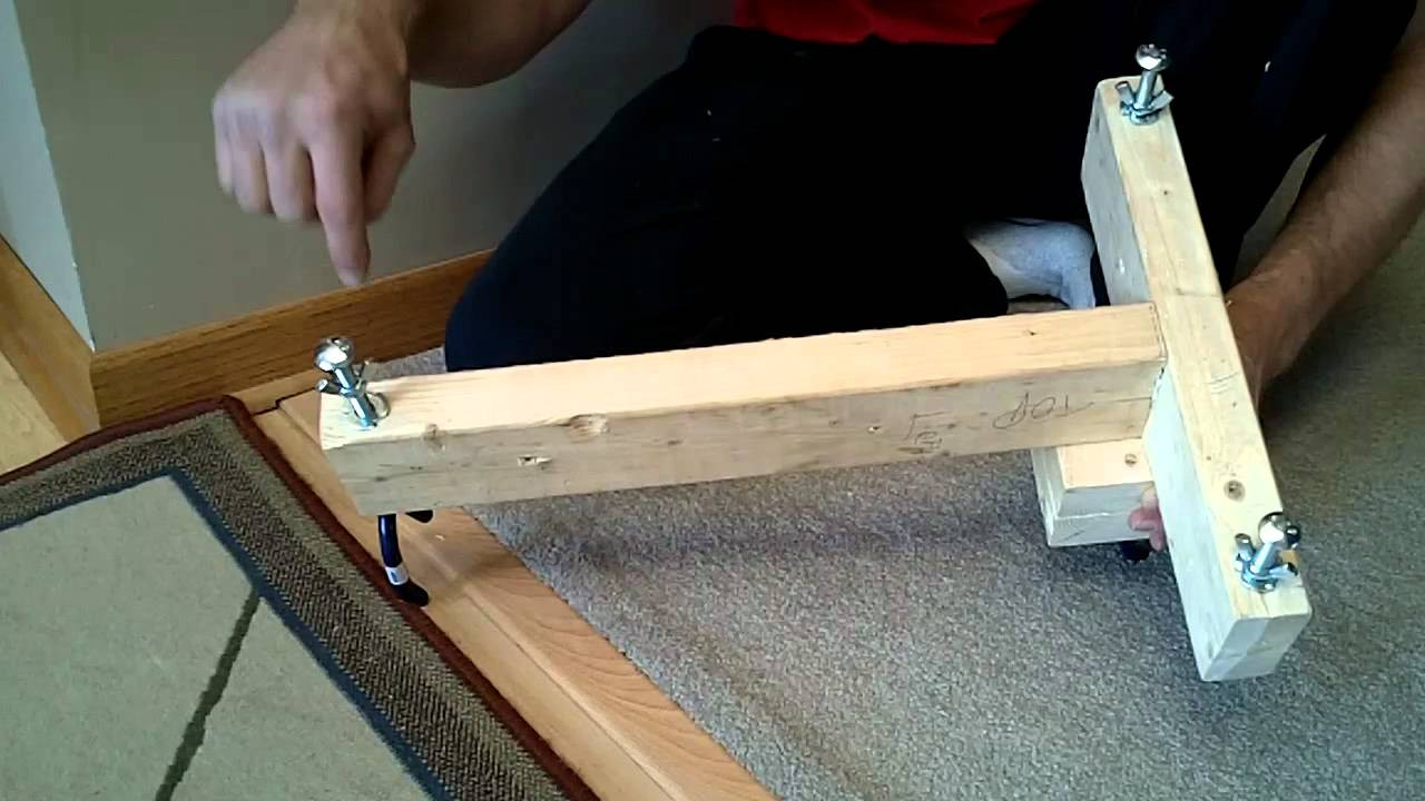 Best ideas about DIY Rifle Rest . Save or Pin Rifle Shooting Stand Rest DIY Homemade $5 Now.