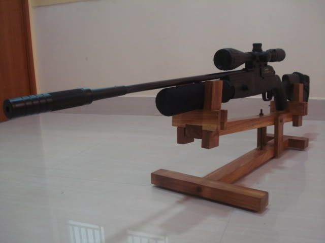 Best ideas about DIY Rifle Rest . Save or Pin My DIY Gun Rest Vise Indians For Guns Now.