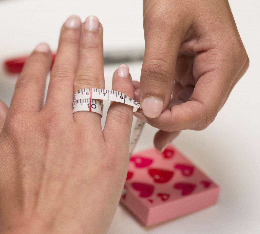 Best ideas about DIY Ring Sizer . Save or Pin DIY Ring sizing guide Made by CustomMade Now.