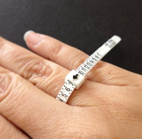 Best ideas about DIY Ring Sizer . Save or Pin 10pc Ring Sizer Ring Measure Multisizer Ring Gauge Now.