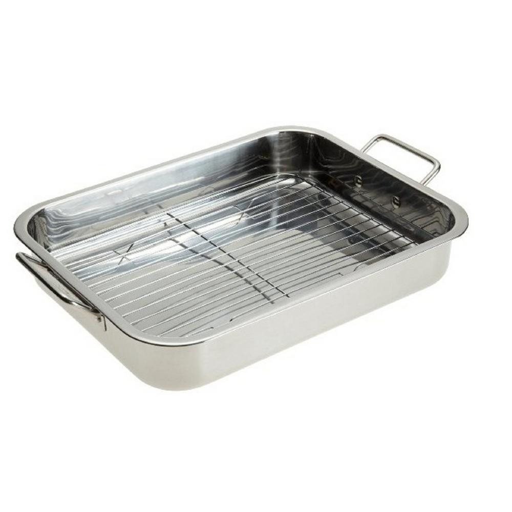 Best ideas about DIY Roasting Rack . Save or Pin Stainless Steel Roasting Pan with Rack MW3553 The Home Depot Now.
