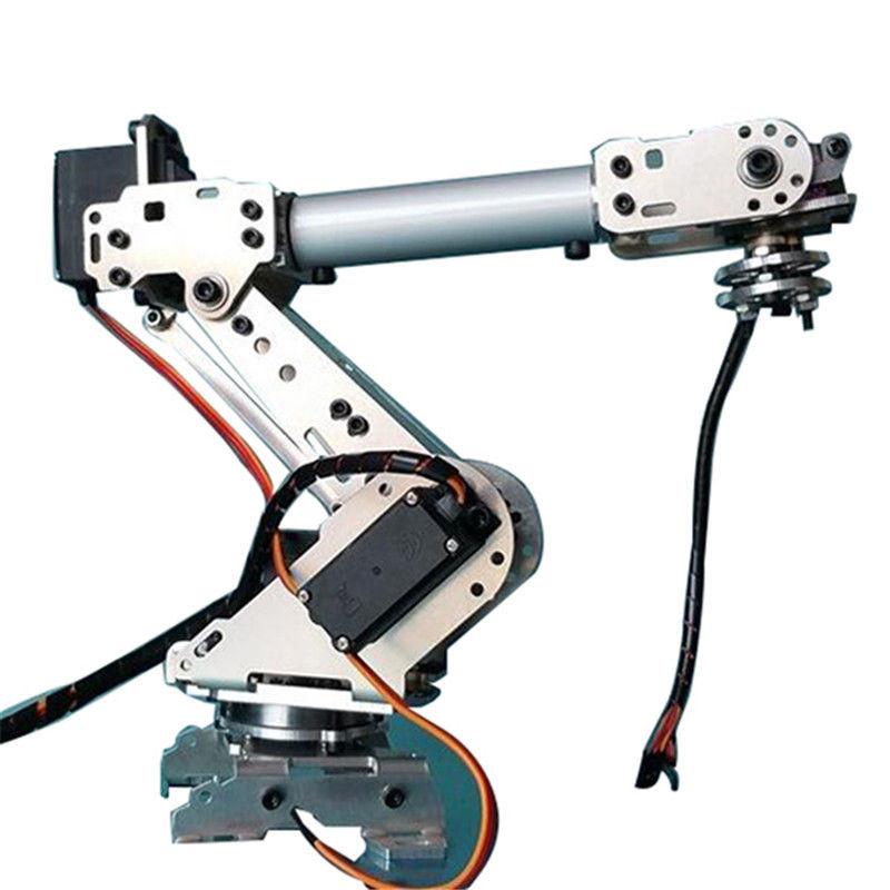 Best ideas about DIY Robot Arm . Save or Pin DIY 6 Aluminum Robot Arm 6 Axis Rotating Mechanical Now.