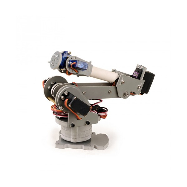Best ideas about DIY Robot Arm . Save or Pin DIY 6 Axis Servos Control Palletizing Robot Arm Model for Now.