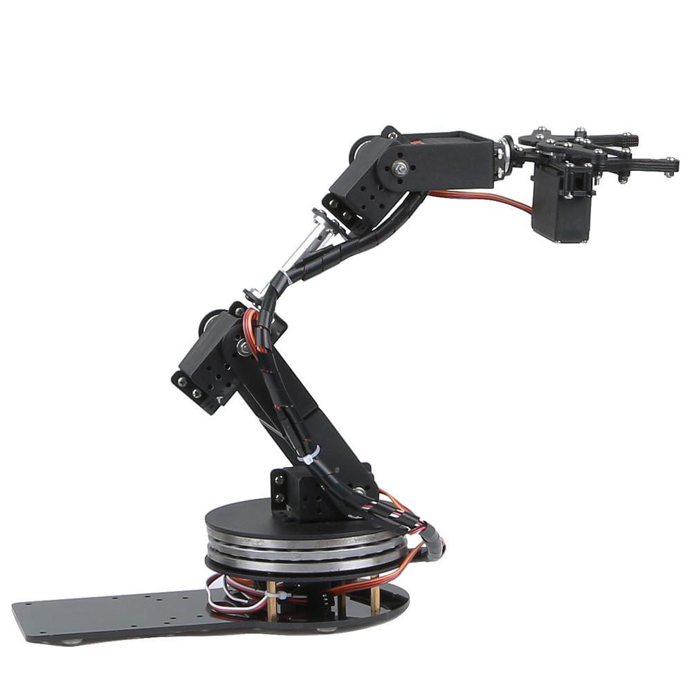 Best ideas about DIY Robot Arm . Save or Pin DIY 6DOF Aluminum Robot Arm 6 Axis Rotating Mechanical Now.