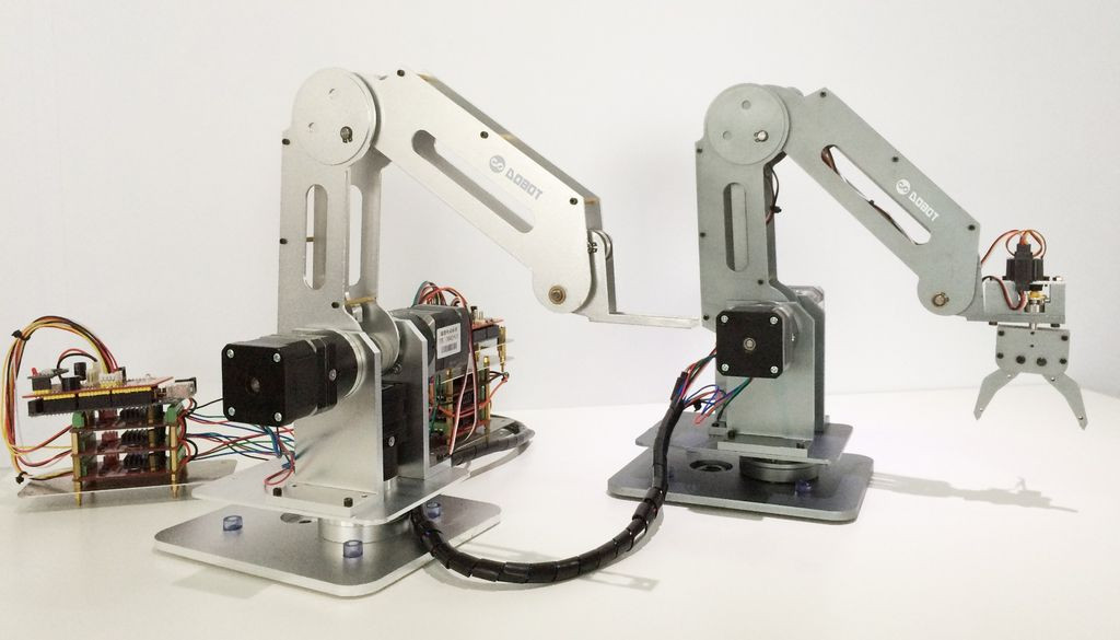 Best ideas about DIY Robot Arm . Save or Pin Build a Laser Cut and Soldering Dobot Robot Arm 16 Steps Now.