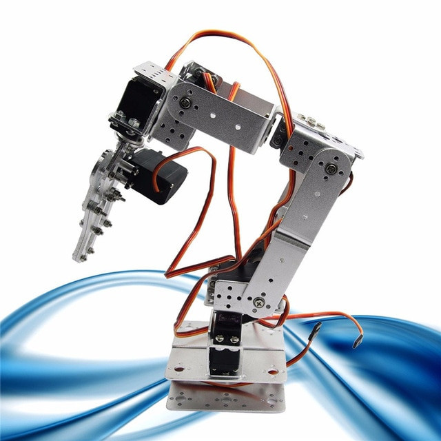 Best ideas about DIY Robot Arm . Save or Pin Deal ROT2U 6DOF robotic arm kit for Arduino Raspberry Now.
