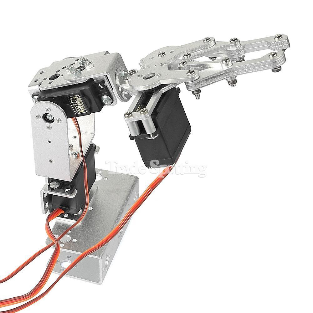 Best ideas about DIY Robot Arm . Save or Pin DIY 3DOF Robot Arm Clamp 3 Aixs Robot Arm Claw with Now.