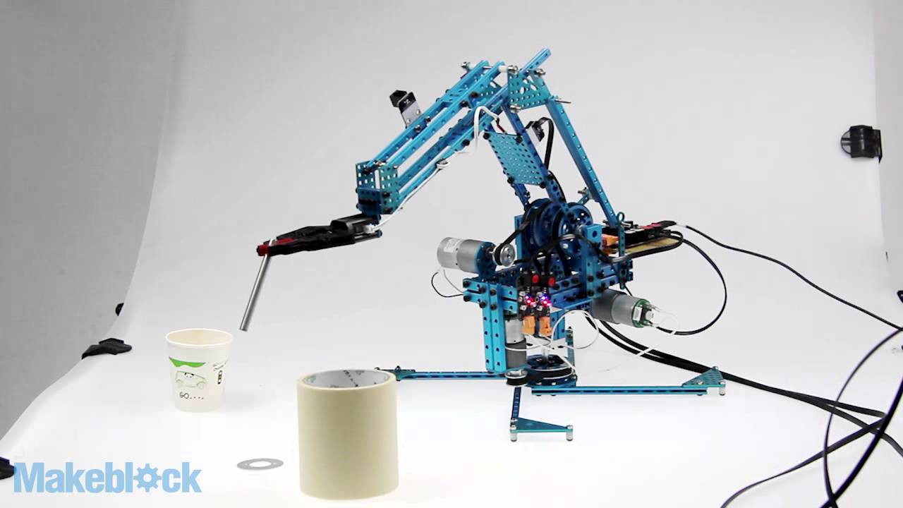 Best ideas about DIY Robot Arm . Save or Pin Makeblock Robot Arm Kit Controlled by DIY Joystick Now.